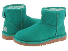 Ugg Classic Mini Womens Boots 5854 Pool-Green