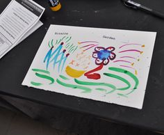 Watercolor with Words/ Special Sunday at The Eric Carle Museum Art Studio