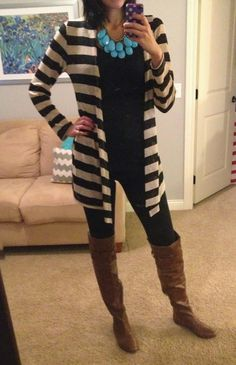 boots, sweater, black - fall winter