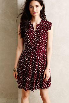polka dots, west street shirtdress, shirtdress anthropologi