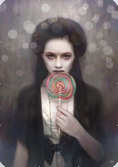 Kuchisake-Onna by Tom Bagshaw