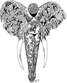 Elephant Muse Tattoo Design – Best tattoos, best tattoo artists