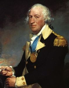 Horatio Gates (1727-1806) was an American brigadier general during the Revolutionary War.  Born in England, he served in the British army. He later settled in Virginia and joined the American army.  General Gates defeated British General Burgoyne in 1777 at the Battle of Saratoga, New York.  He was said to have been involved in a conspiracy to replace General Washington, but his part was never determined.  Congress in 1780 gave him command of the southern army where he lost the Battle of Camden.