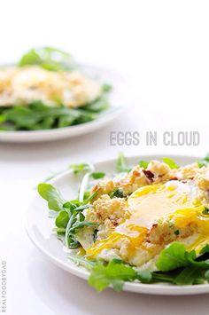 Eggs in Cloud by realfooddad #Eggs