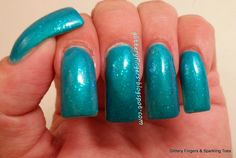 Glittery Fingers & Sparkling Toes: TIOT: Sally Hansen Triple Shine Hypnautical