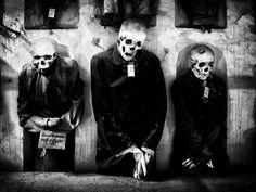 three hung men