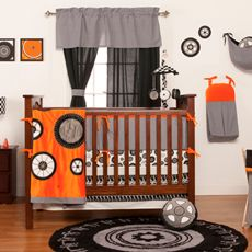 One Grace Place Teyo's Tires Crib Bedding Set & Accessories-buybuy BABY