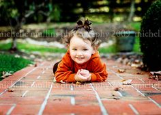 cute toddler pose
