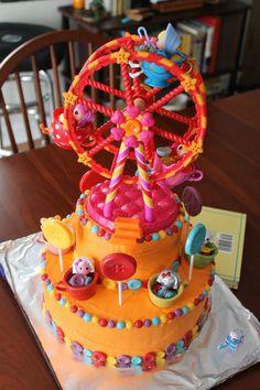lalaloopsy cake idea ferris wheel cake, lalaloopsi cake, birthday cake