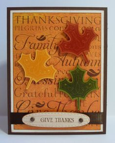 Crafting with Katie: Happy Thanksgiving! Art Philosophy cart
