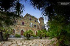 Borgia Castle in Umbria, Italy.