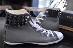 studs, stude convers, craft, inspiration, stud convers, diy stude, diy studded converse, sneakers, shoe