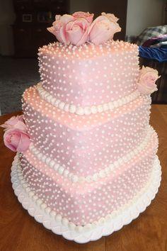 Bridal Shower Cake (heart shaped) — Bridal Shower