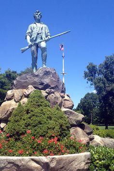 Minuteman Statue, Lexington MA