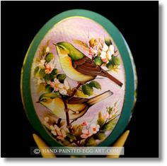 Hand painted and decorated Egg Art!