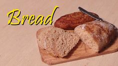 Mini Series#1 Pt.4; Simple Miniature Loaf of Bread - Polymer Clay