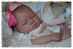 Vinyl REBORN ooak doll life like art ARTIST  fake newborn Baby Girl             $299.99