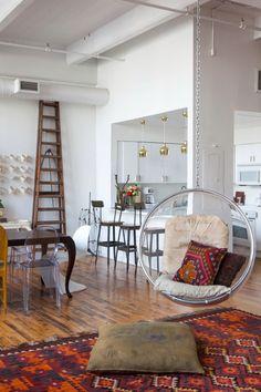 layered & artful loft #covetlounge @covetlounge
