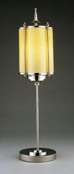 Table lamp (trefoil motif), designed by Marcello Piacentini, circa 1927-29 ART DECO