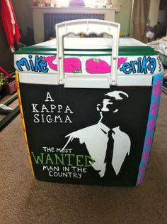 kappa sigma cooler idea