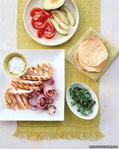 Grilled Chicken Tostadas Recipe
