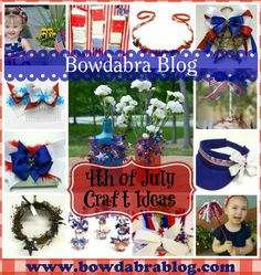 4th of July Party & Craft Ideas