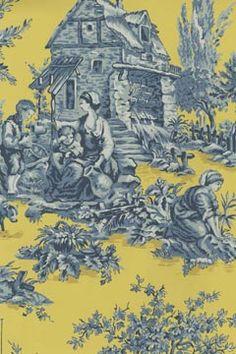 toil blue, pattern