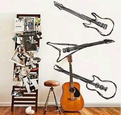 Decoração Rock and Roll