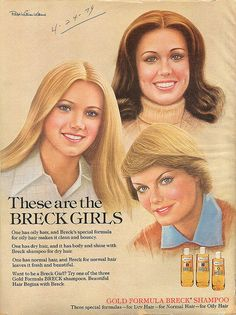 Breck Shampoo...a bottle was ALWAYS in the bathroom.  This is the only shampoo my family used growing up.  EVER.