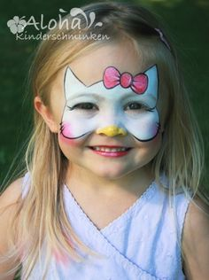 This is so cool!!!! Face paint - kitty