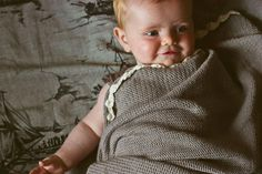 The sweetest baby blanket in the world. Crocheted. By Toto Knits.