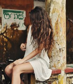 messy, beautiful hair, beach curl...in a perfect world...