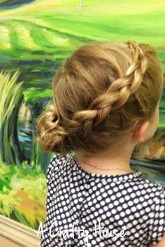 Little Flower Girl Hair