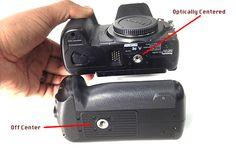GH3 / GH4 Battery Grip Tripod Mount Adapter