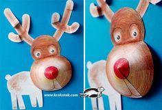 Christmas deer free printable templates