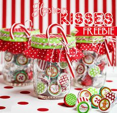 Free Hershey Kiss Printable courtesy of @Amanda's Parties TO GO
