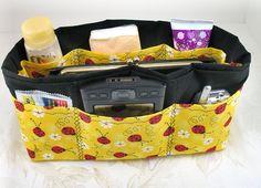 my next sewing project... A Purse Organizer!!!