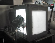 How to make an inexpensive light tent