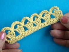 Crochet Lesson 275 Khaimah Crochet lace