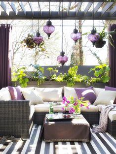 Modernize your space! #lavenderliving #outdoorliving #villagecommunities
