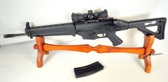 This is the ultimate assault rifle. This is the Sig Sauer 556. It