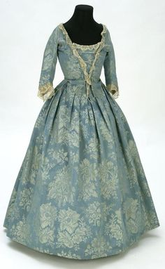 Jacket and petticoat, early-to-mid-18th century