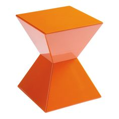 Rocco End Table in Orange. #furniture #exhibitbooth #events
