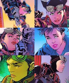 Injustice Catwoman collage.