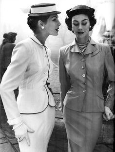 vintag, fashion, 1950s style, ann gun, style icons