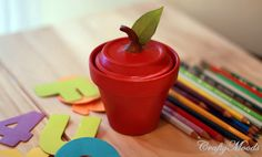 Cute idea for table favors, teacher gift, etc....