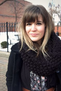 Ombre with bangs. Bangs or no bangs? That is the question.