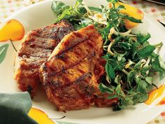 Orange-spiced Pork Chops  pork recipes