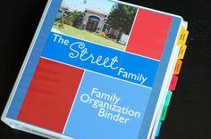 The Inspired Organizer: Family Organization Binder