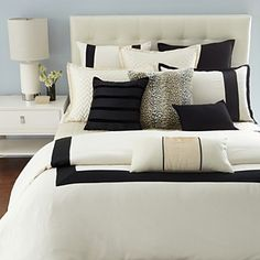 Hudson Park Luxe Herringbone Hemstitch Collection - Bedding - Bed & Bath - Categories - Home - Bloomingdale'sRegistry